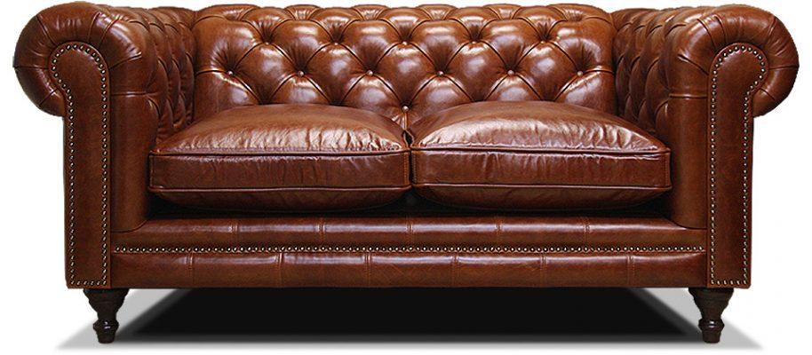 двухместный классический диван честер