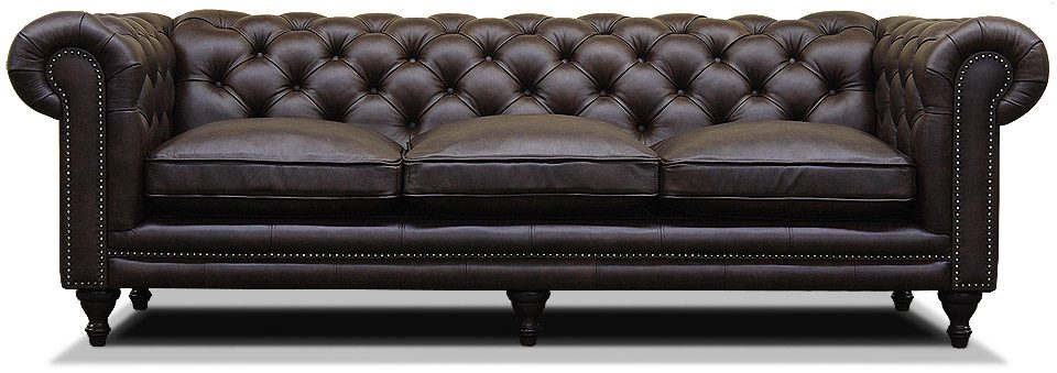 трехместный диван в английском стиле