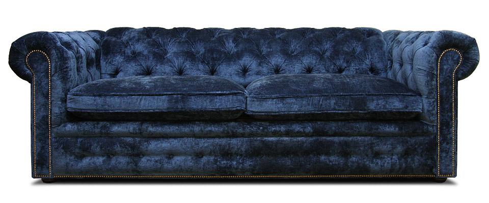 диван честер в велюре